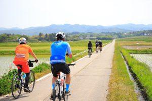 あぜ道サイクリングツアー